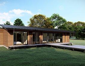 3D asset HPL Oak House