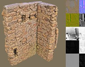 3D asset Wall Corner 2