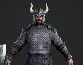 3D asset Medieval Viking Warrior Vikings barbarian