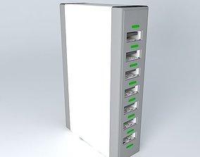 D-Link DUB-7H USB 7 port hub 3D