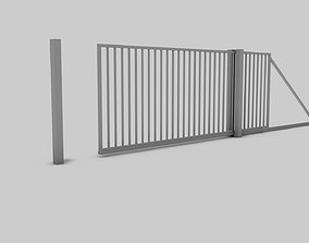 3D asset Entry Gate