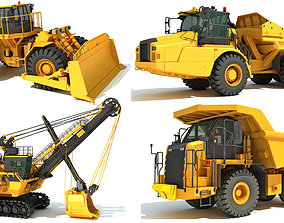Mining Vehicle 3D Models