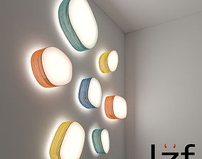 3D model LZF ceiling and wall light