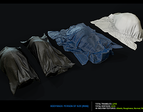 Morgue - Bodybags Collection 3D model