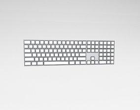 Cartoon Keyboard v1 005 3D asset