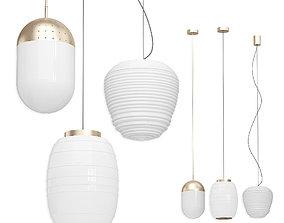 3D Collection set Light Woud Lamp Misko Focsarini Rituals