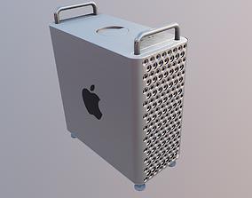 mac pro design 3D model VR / AR ready