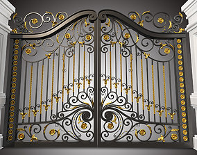3D model Gate and fence Metal Art