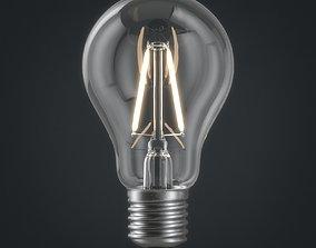 Light bulb 01 3D