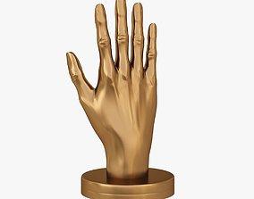 Hand shape 3D print model