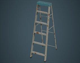 Step Ladder 5B 3D asset