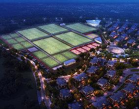 Grand Stadium 002 3D model