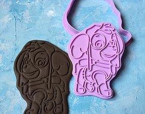 Paw Patrol Cookie Cutter Details Skye 3D print model