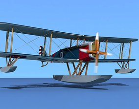 3D model Airco DH-4 US Navy Seaplane