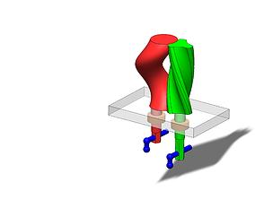 3D print model special gear