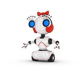 fantasy Funny Robot Character 3D