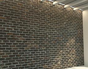 Brick wall Old brick 79 3D model