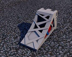 Car stop wedge 3D printable model