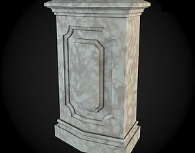 3D Pedestals classicism