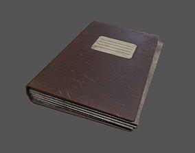 3D model Old Vintage Office File Folder