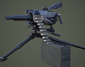 weapons 3D MK47 grenade launcher