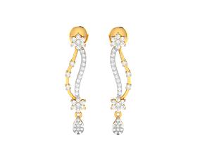 Women earrings 3dm render detail studs