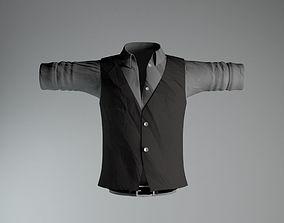 3D Shirt Belt Vest