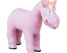 3D Baby Rubber Toy Donkey