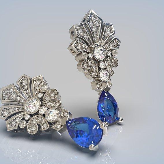 Earrings beautiful