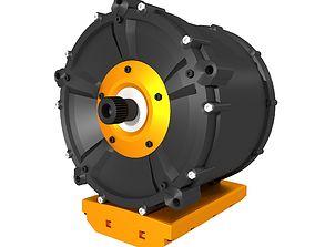 3D Automotive AC Electric Motor