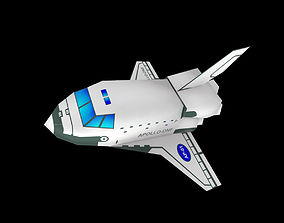 Space Shuttle 3D asset