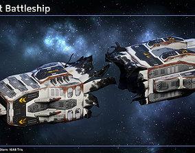 3D asset Spaceship Shipwrecks
