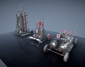 3D Portable machinery assets for Unity