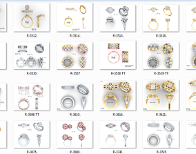 650 Ring Earrings Pendant Bracelets Necklace 3dm bulk 1