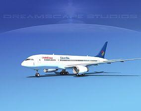 3D Boeing 787-8 Egypt Air