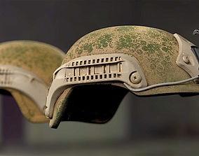 3D model Bulletproof Soldier Helmet 2
