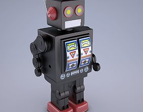 Mr D Cell Vintage Style Collectible Electron 3D model 2
