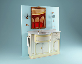 3D Lineatre Washstand