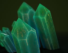 3D model 1 mineral green