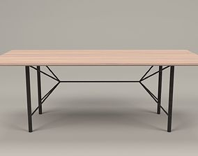 3D asset realtime Rudolph industrial table
