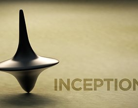 Inception Top Totem 3D asset game-ready