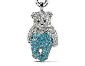 Bear Berry Pendant 3D print model