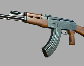 AK 47 - 3d model for 3ds max