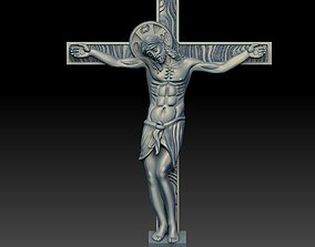 3D printable model JESUS ON THE CROSS