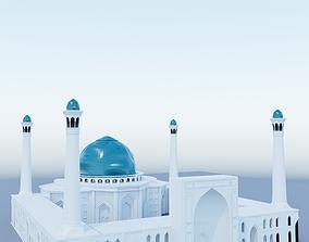 mosque 3d model exterior