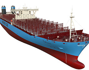 Maersk Triple E 1st generation 399m 3D