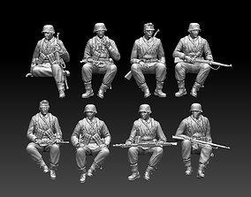 3D printable model world German soldiers