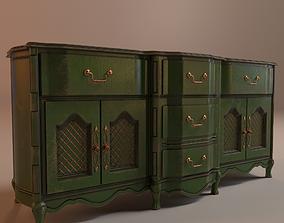 3D model PBR Vintage Cabinet