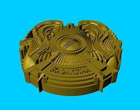 coat of arms of Kazakhstan 3D printable model