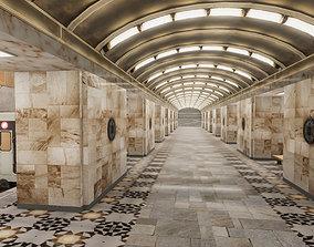 3D model Subway Station 04